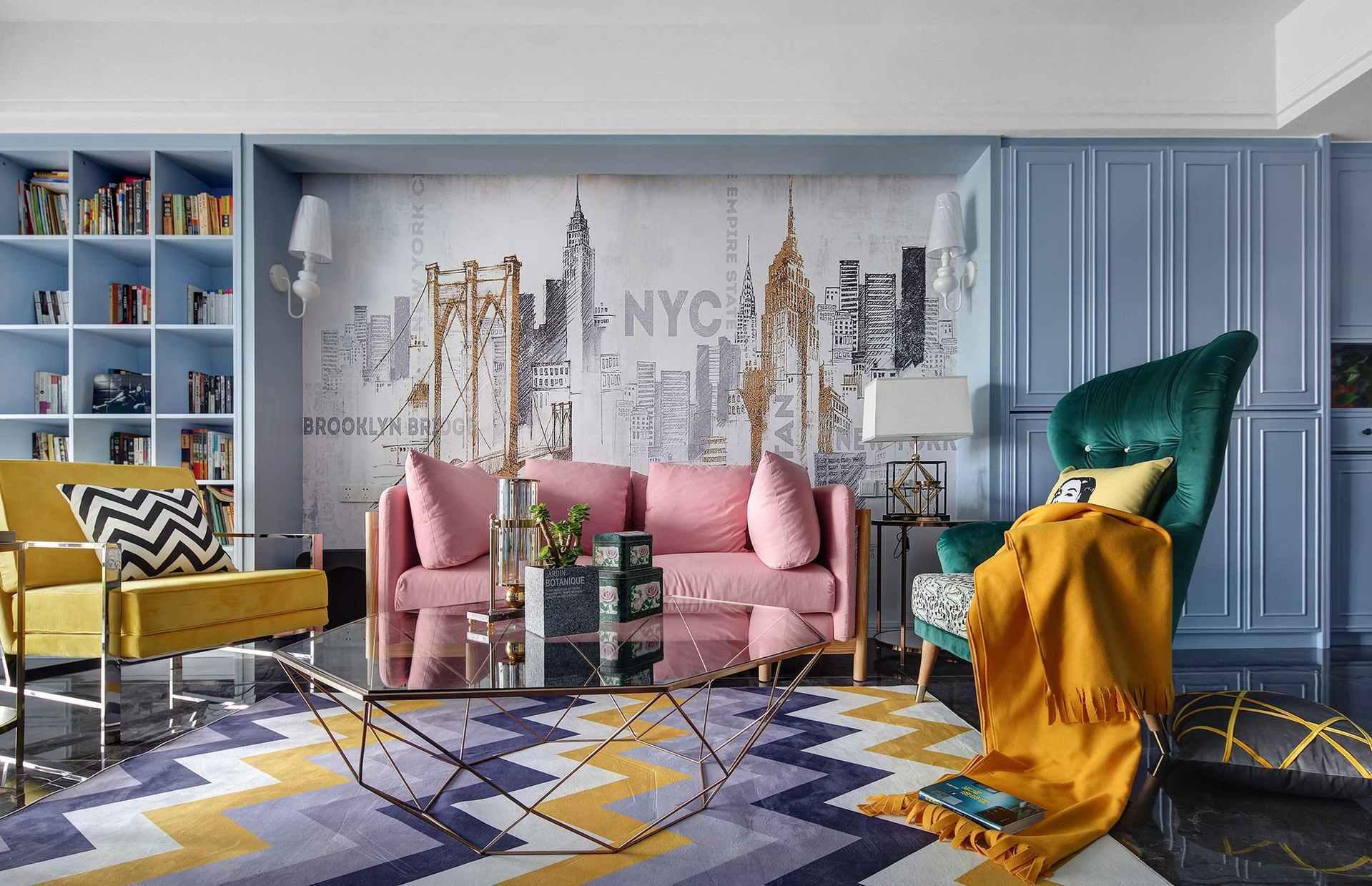 室内空间设计的软装色彩剖析