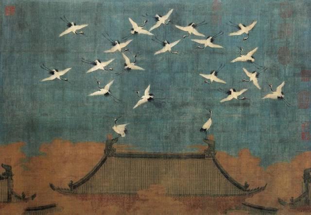 【国画】| 历代名家画鹤,长寿吉祥!图片