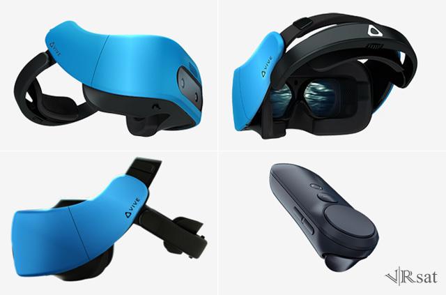 发力移动VR,HTC推Vive Focus一体机和Vive Wave开放平台
