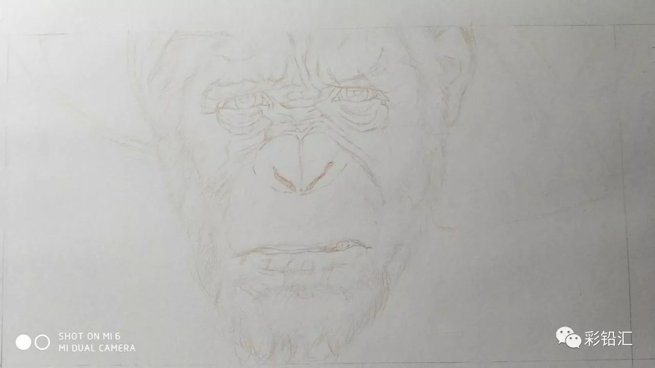灵契手绘素描彩铅
