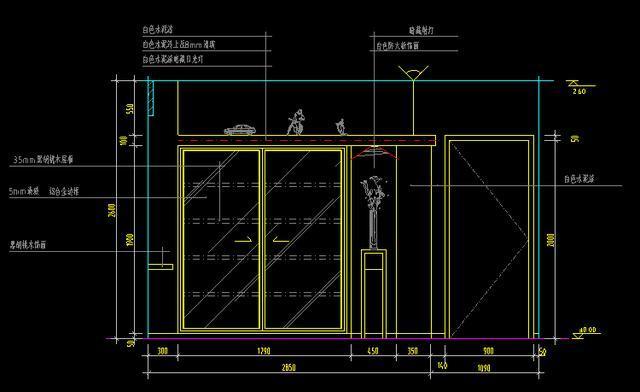 室内设计经典分享,cad大师空间分布,标志图v经典装潢教学设计图片