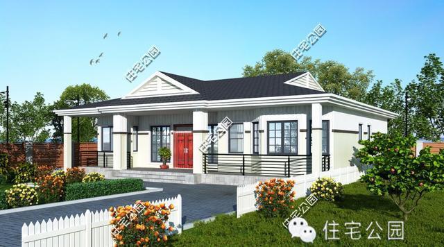 3套农村一层小平房,比别墅都美!