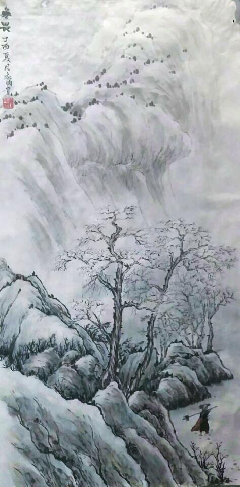 画家孙志明:趣由笔生,法随意转