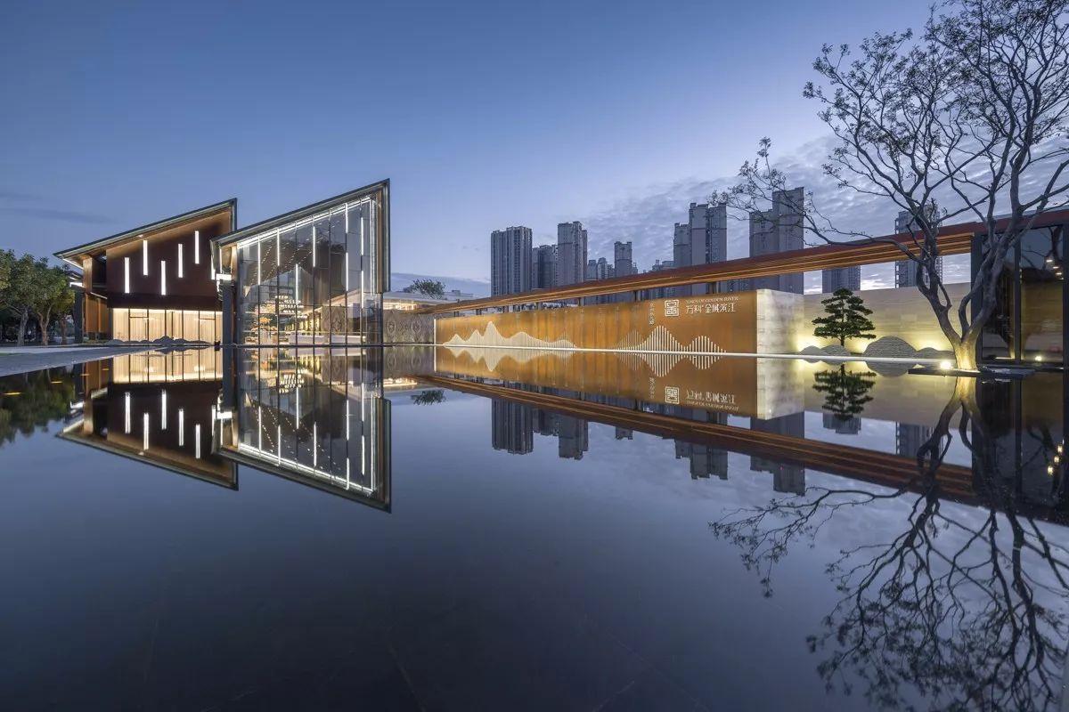现代水池设计图