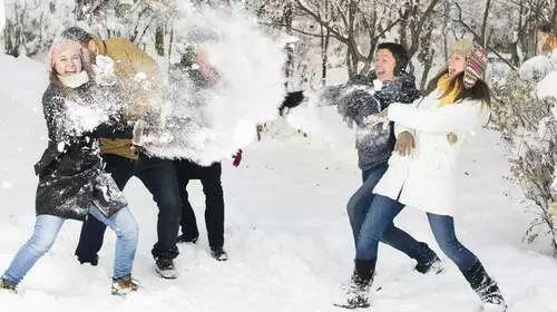 冬天打雪仗图片_雪后现本体 论哈尔滨的正确打开方式