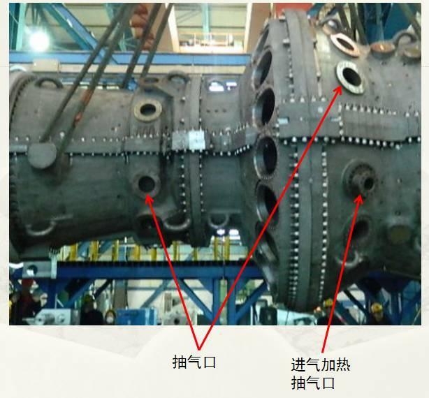 压气机静叶在气缸上有两种固定方式: 第一种是直接装配的静叶,压气机5-16级静叶为单独个体叶片,为长方形基面的T型叶根。气缸上加工有叶根槽,静叶一片一片地装入叶根槽中。 第二种是带有静叶持环的静叶,0-4级静叶,17级、EGV1、EGV2一共7级静叶都是装在静叶持环内,封口用锁键固定,通常分为数个扇形段,一个个装入气缸内。