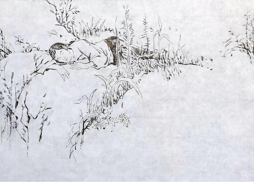 革命英雄人物简笔画手绘素描