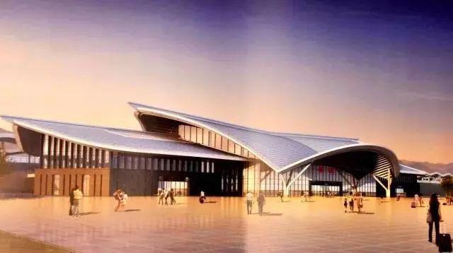 桑植火车站设计图曝光