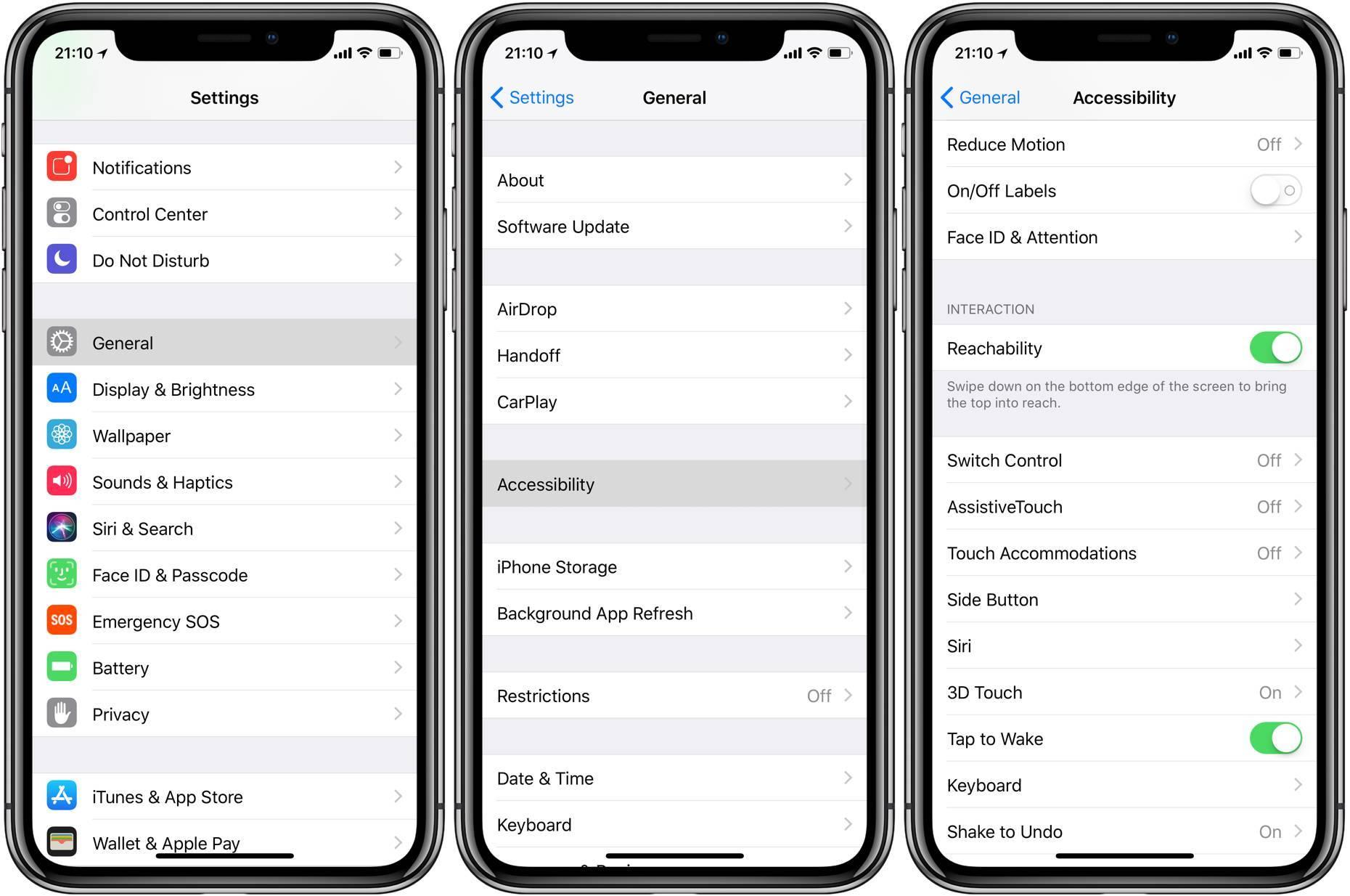 iPhoneX如何使用单手模式