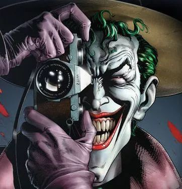 铅笔画恐怖小丑图片