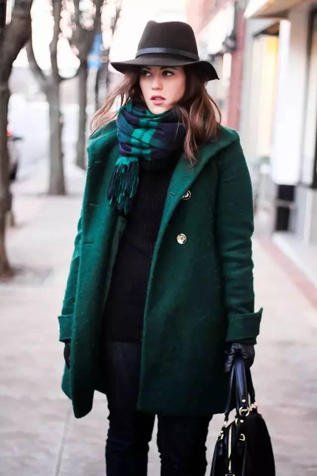如此系领巾让你的大衣时尚感飙升!