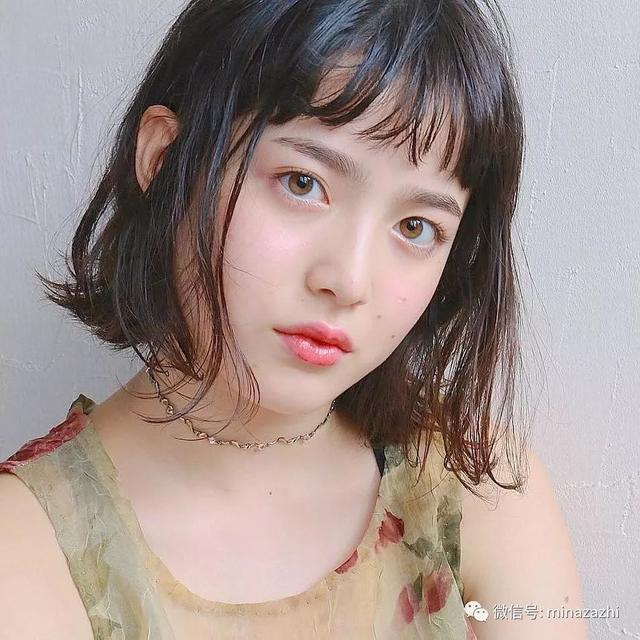 发型|混血萝莉山田直美近照分享~超可爱发型依旧动人图片