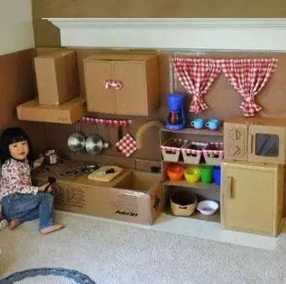 幼儿纸盒手工制作恐龙