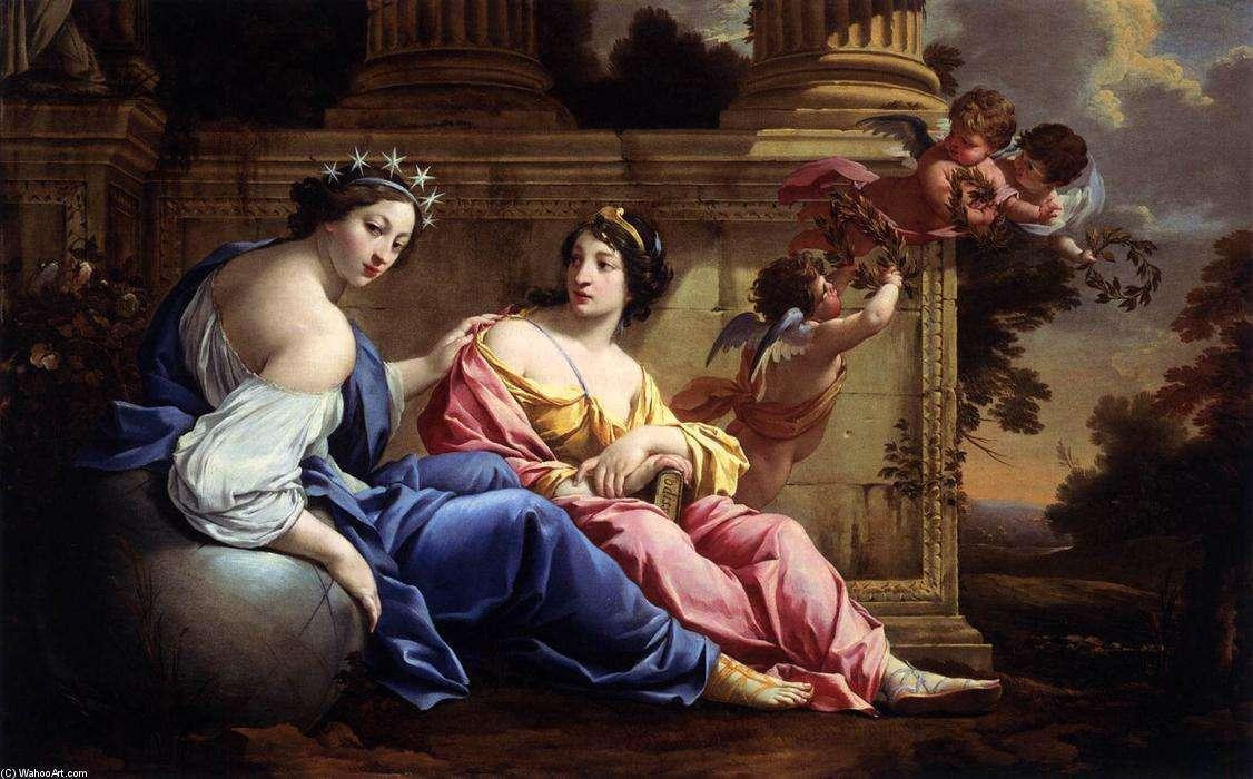 古希腊神话故事 掌管艺术与科学的缪斯女神