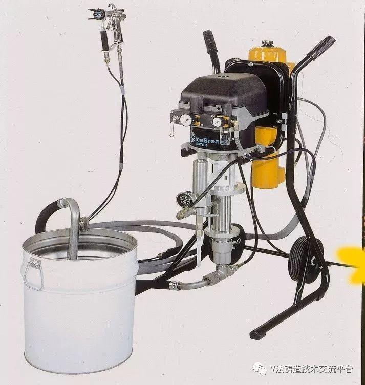 科技 正文  基本配置:1,不锈钢柱塞铸造喷涂泵主机一台(德国):壁挂式图片