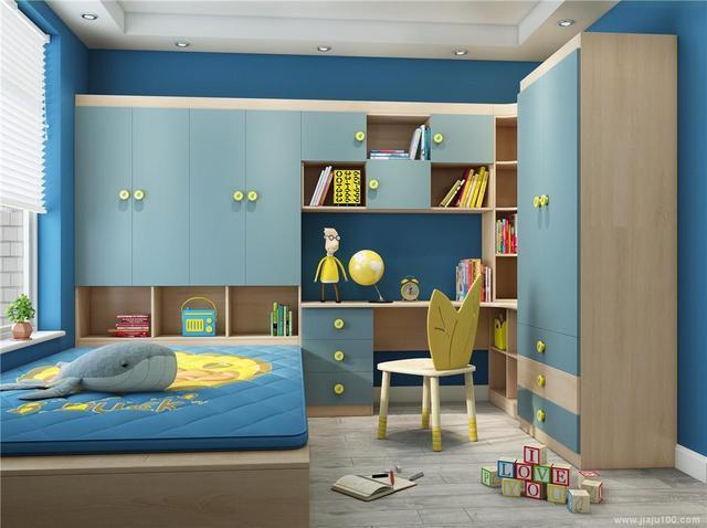8款小户型榻榻米床装修效果图,一体设计省空间更实用!