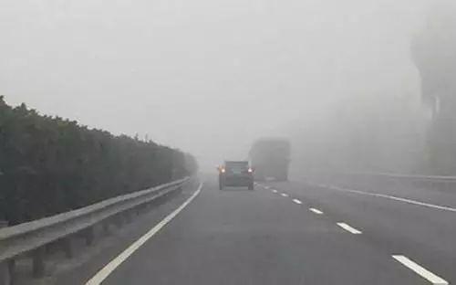 山西发布2017年全省高速公路团雾地图,十大易发生高速路段,千万要当心