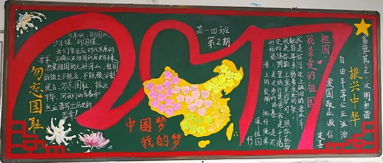中国梦,我的梦!我为祖国骄傲,我为自己加油! 定海一中高一(6)班