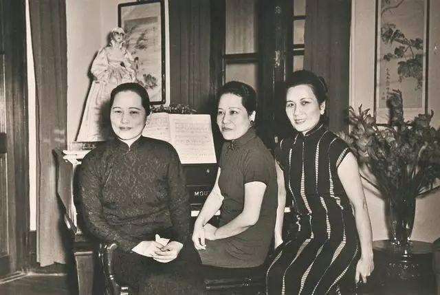 宋氏三姐妹,宋庆龄,宋美龄,宋霭龄图片