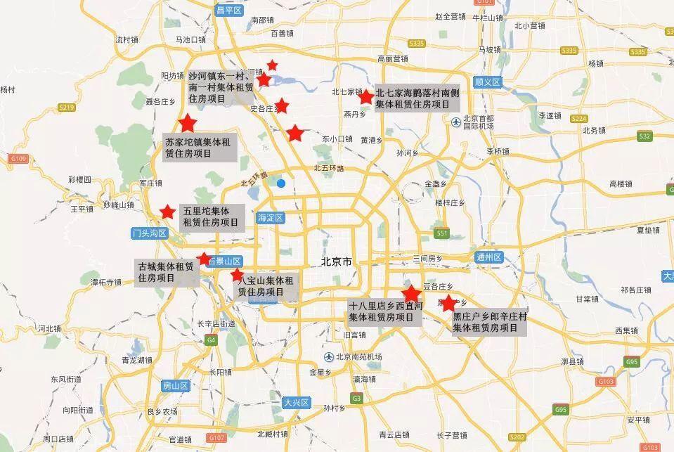 北京17个集体用地租赁住房项目已落定!