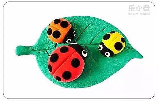 昆虫粘土手工制作