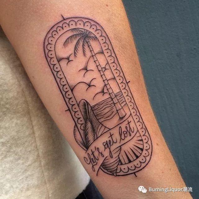 美好的纹身图案从traveling开始