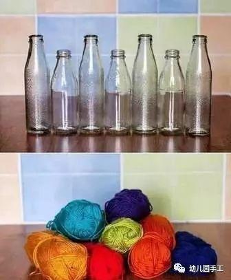 貝殼, 用玻璃罐diy沙瓶, 06 創意花瓶 小伙伴們喜歡環保手工嘛.