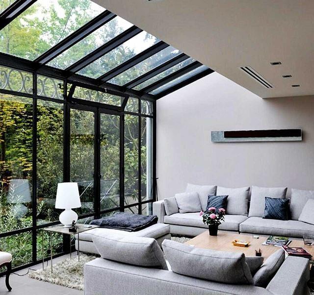 冬季别墅阳光房装修设计效果图