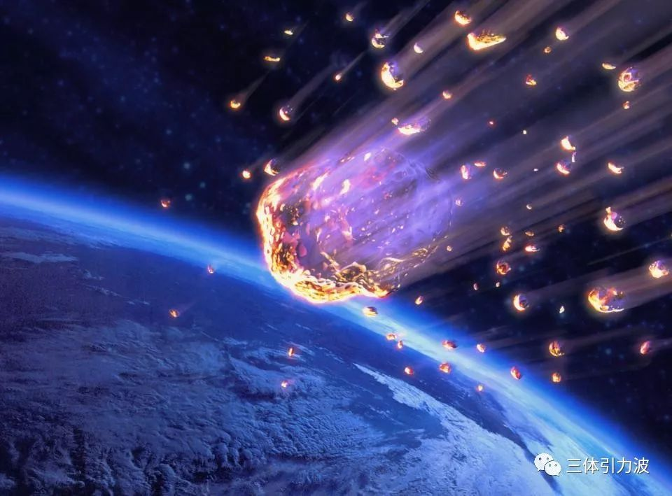 或者穿过这些尘埃带时,就会跟大气层高温碰撞,形成非常壮丽的流星.