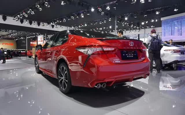 广汽丰田全新凯美瑞正式上市 售价17.98万