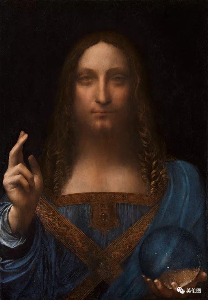 这幅名画《救世主》(salvator mundi),被部分专业人士认为是 全世界图片