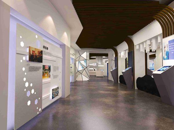 室内手绘d立体展厅