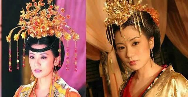 武则天真实相貌还原_在《太平公主秘史》李湘饰演的武则天已近晚年,可能是李湘长相太过
