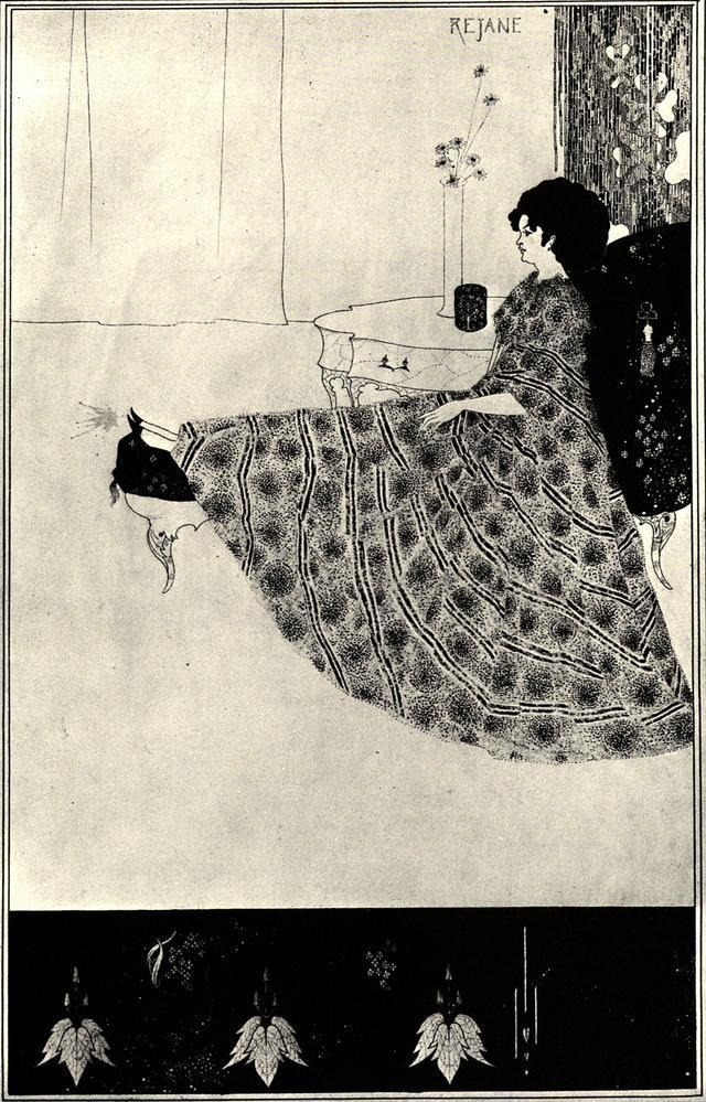 """鲁迅评价插画艺术家""""比亚兹莱"""":近代艺术史上闪亮的一颗流"""
