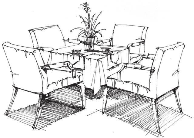 手绘教程 | 室内设计手绘表现基础