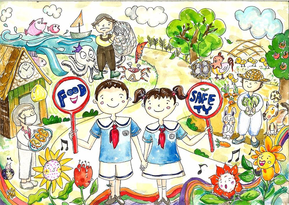 学校的两千余幅儿童绘画作品;筛选美术教育专家及食品安全大全的经过中国电影漫画专家图片
