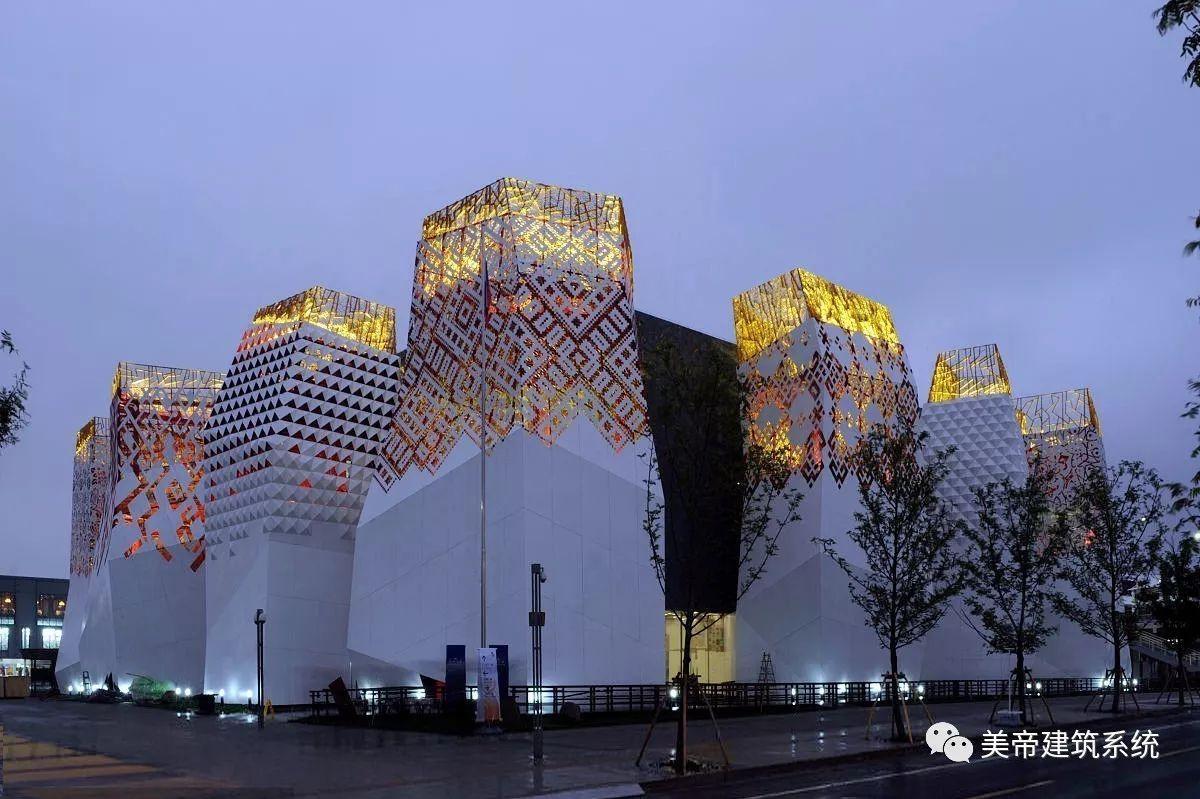 传统剪纸艺术在现代建筑设计中的应用图片