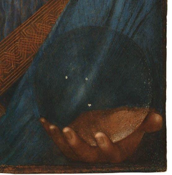 耶稣基督手上的水晶球