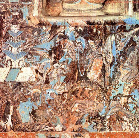 九色鹿舍己救人,强盗也能成佛,来看敦煌壁画才会告诉图片
