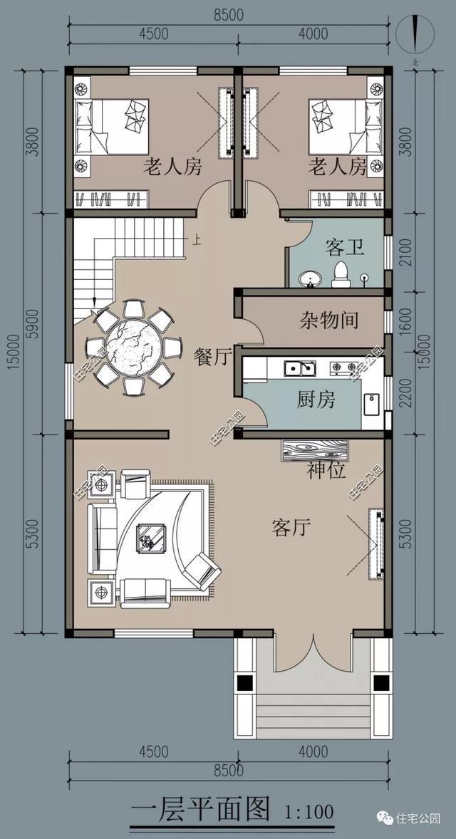 农村神位设计图