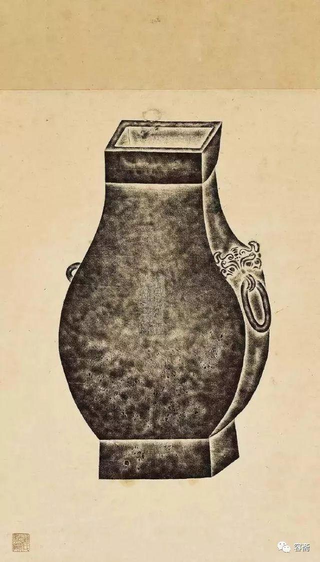 文化 正文  全形拓,是一种墨拓古器物立体形状的特殊传拓技法,又称
