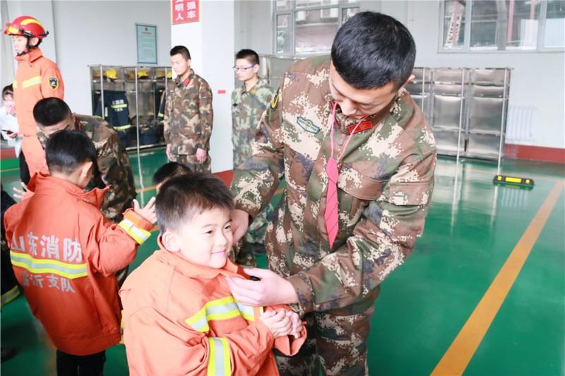 臨沂童星實驗學校中心幼兒園開展成長體驗活動
