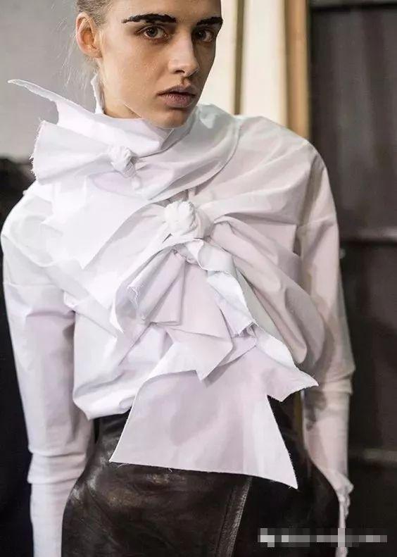 服装设计细节飘带