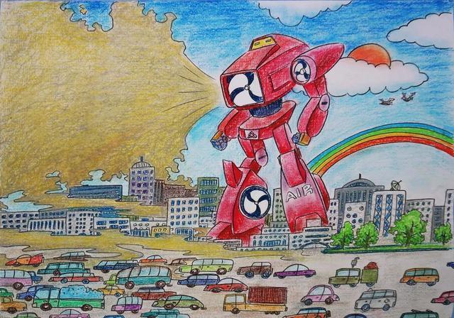 松山湖 我爱机器人 创意绘画比赛开始啦 你准备好了吗