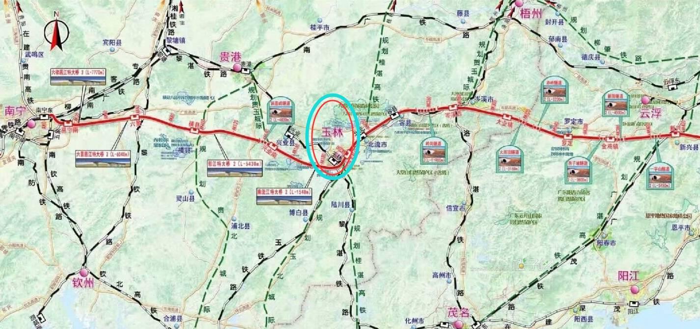 不怕堵!南宁至玉林第二条高速公路要来了, 你怎么看?