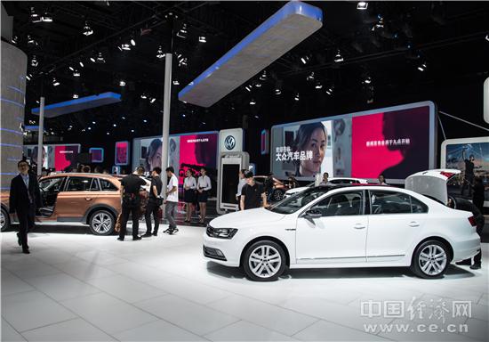 大众携实力车型亮相广州车展