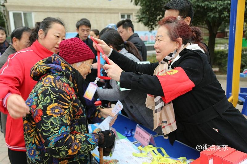 西安莲湖区在唐都花园开展普法宣传  喜闻乐见深受居民欢迎 - 视点阿东 - 视点阿东