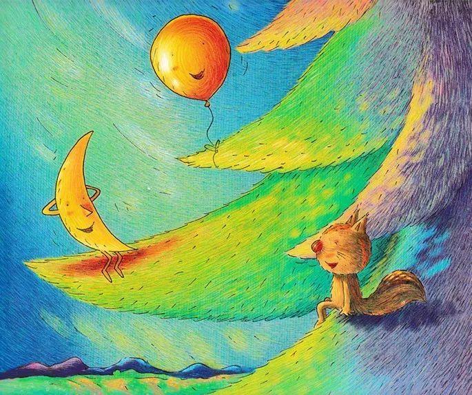 小松鼠的月亮