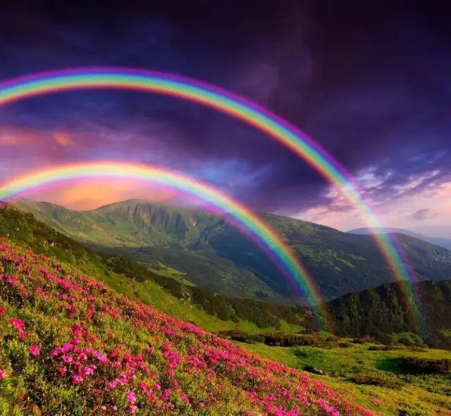 3,梦见七色彩虹