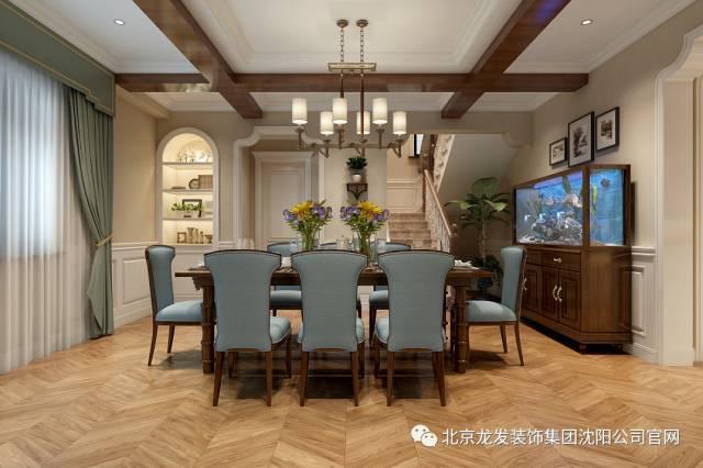 半开放式背景的氛围墙装饰简单的进行,鱼缸的出现使整个餐厅的餐厅一钢琴标志设计v背景经典工作室图片